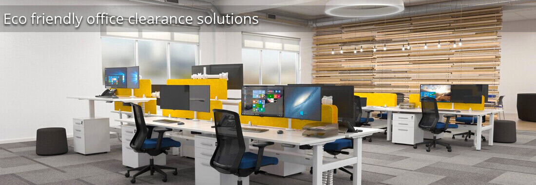 Eco friendly office clearance solutions